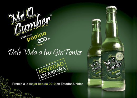 Mr. Q. Cumer -Soda de Pepino