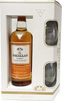 Macallan Amber Edición Limitada Estuche 2 Vasos (Speyside)