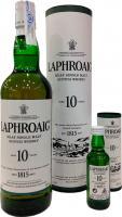 Laphroaig Reserva 10 Años + Miniatura 5 CL Gratis ( (Islay)