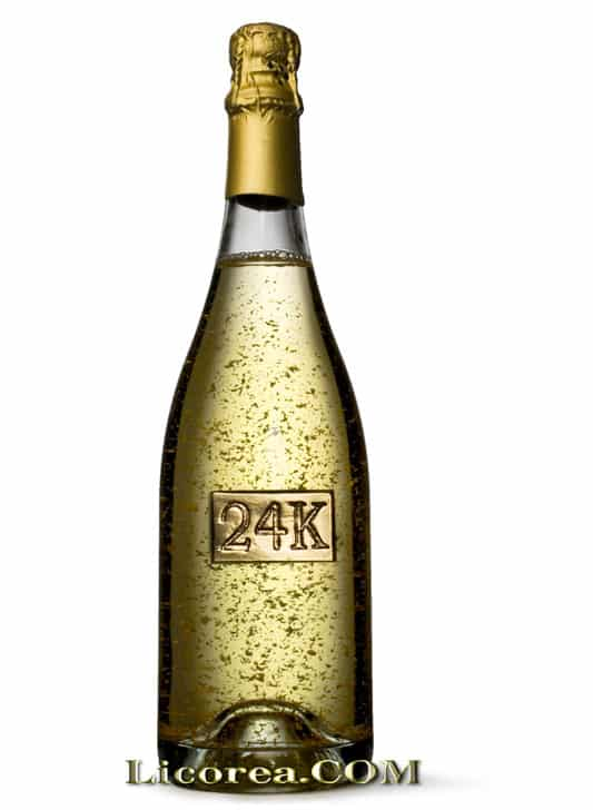 Champagne With Gold One 24k Valencia Buy Cava