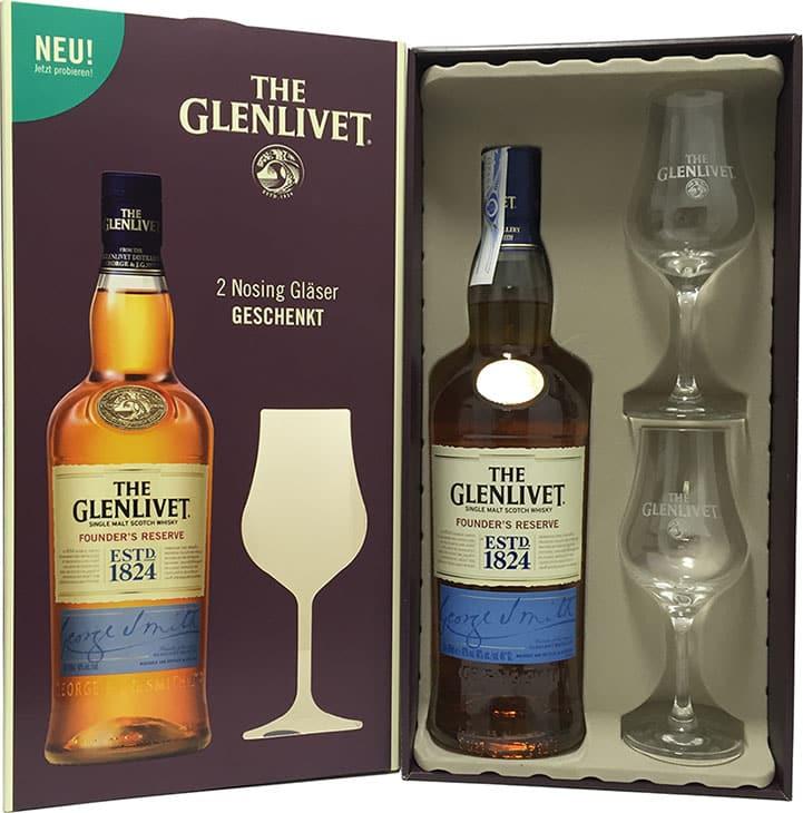 The glenlivet founders reserve 2 copas comprar whisky for Copas para whisky