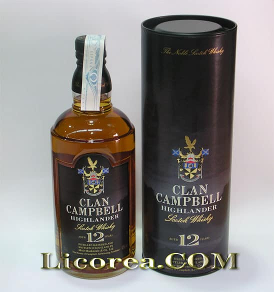 clan campbell 12 years buy whisky scotch whisky. Black Bedroom Furniture Sets. Home Design Ideas