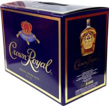 Crown Royal 1 Litro 4 Botellas Estuche Especial (Canadá)