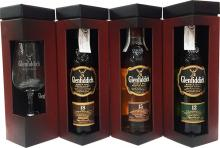 Glenfiddich Explorer's Collection  3 X 20CL + Tasting Glass