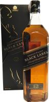Johnnie Walker Black Label Reserva 12 Años 1 Litro