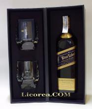 Johnnie Walker Blue Label + Glases