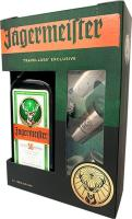 Jagermeister 1 Liter + 3 shot glasses