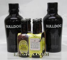 Bulldog 1 litro  2 Bottiglie + 4 Toniche Fentimans Gratis