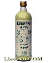 Rubben's Gin with Kiwi Cream (Netherlands) 1 Liter