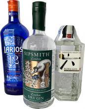 Sipsmith + Roku Gin + Gratis Larios 12