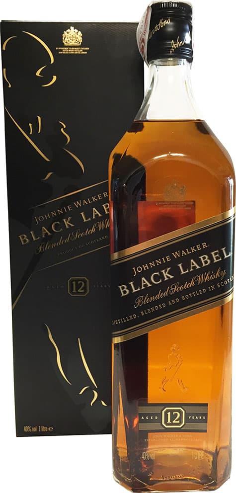 Johnnie Walker Black Label Reserve 12 Year 1 Litre Buy Whisky