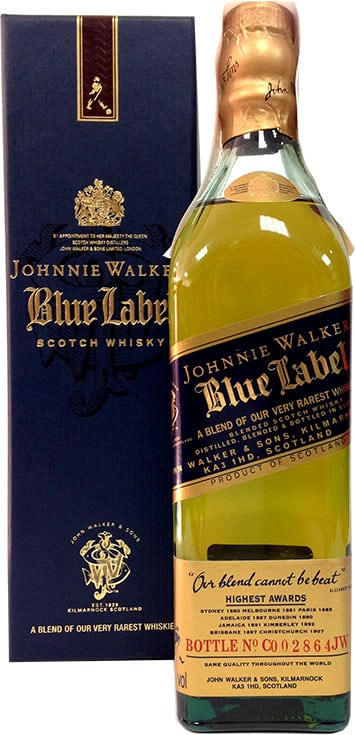 johnnie walker blue label 20 cl comprar petacas johnnie walker blue label 20 cl licorea. Black Bedroom Furniture Sets. Home Design Ideas