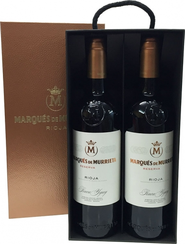 2 Marques de Murrieta Reserve  + Case