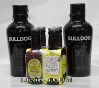 Bulldog 1 litro 2 Botellas + 4 Tónicas Fentimans Gratis