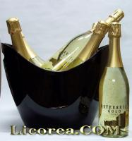 Austria Gold (With 23 Carat Gold) 6 Bottles + Champagne
