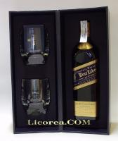 Johnnie Walker Blue Label + Bicchieri