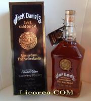 Jack Daniel's Gold Medal 1981, 1 Litro