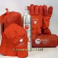 Caramel Vodka Gecko 6 Bottles + Winter Kit