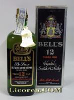Bell's Reserva 12 Años Botella Antigua