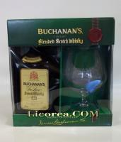 Buchanan's 12 Years + Glass