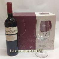 Ramon Bilbao Crianza 2015 8.15EUR 12 Bottles + 6 Goblets