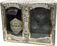 Hendrick's + einem Glas (Schottland)