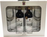 Coto de Imaz Reserve 2012 2 Bottles with 2 Goblets