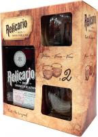 Relicario Reserve 12 Years + 2 Glasses (Dominican Republic)