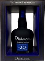 Dictador 20 Years Solera System Rum (Colombia)