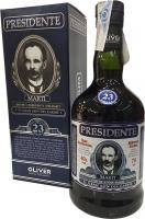 Presidente Solera Reserve 23 Years (Dominican Republic)