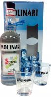 Sambuca Extra Molinari + 2 Glasses