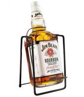Jim Beam 3 Liters with crandle
