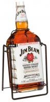 Jim Beam 4.5 Liters with crandle