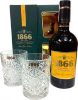 1866 Gran Reserve + 2 Glasses