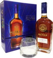 Metaxa 12 Starts + 2 Glasses