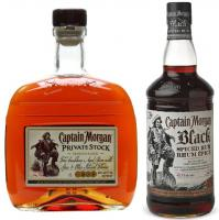 Capitan Morgan Private Stock + Black Spiced 1 Litro