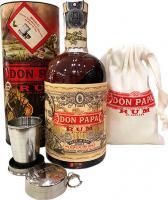 Don Papa Edizione Limitata + tazza di metallo + borsa di stoffa (Filippine)