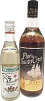 Flor de Santa Cruz Añejo Reserva 1 Litro + Varadero 3 Años 37,5 CL (Caribe)
