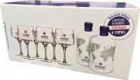 Nordes 2 Bottles + 6 Globets (Galicia)