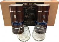 2 Arehucas Special Reserve 18 Years (Canary Islands) + 6 Glasses