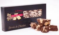 Turrón de Chocolate con Almendra Marcona