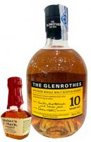 The Glenrothes 10 Year Reserve + Makers Mark 5 CL for Free