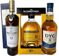 Macallan Doble Oak + Glenrothes 10 + Gratis DYC 8