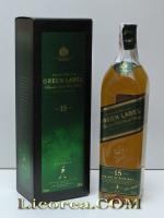 Johnnie Walker Green Label Reserva 15 Años, 1 Litro (Highland)