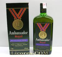 Ambassador Royal 12 Years 1 Liter