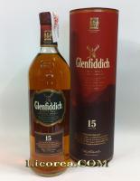 Glenfiddich Reserva 15 Años Solera Vat 1 Litro (Highland)