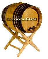 Oak Barrel 8 Litres with Wine from Jumilla/Pinoso