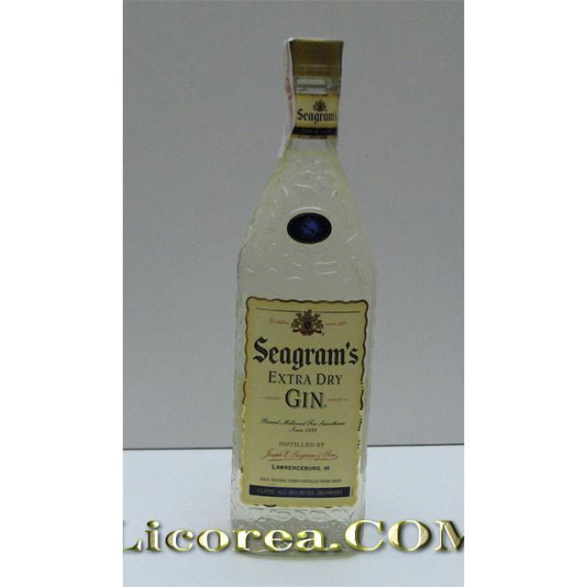 Seagram's Extra Dry Gin 1 Litre (USA)