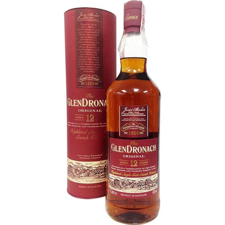 Glendronach 12 Jahre 1 Liter (Speyside) - Kaufen Whisky ...