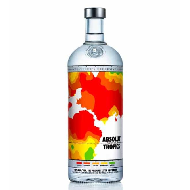 Absolut Tropics, 1 Litre (Sweden)